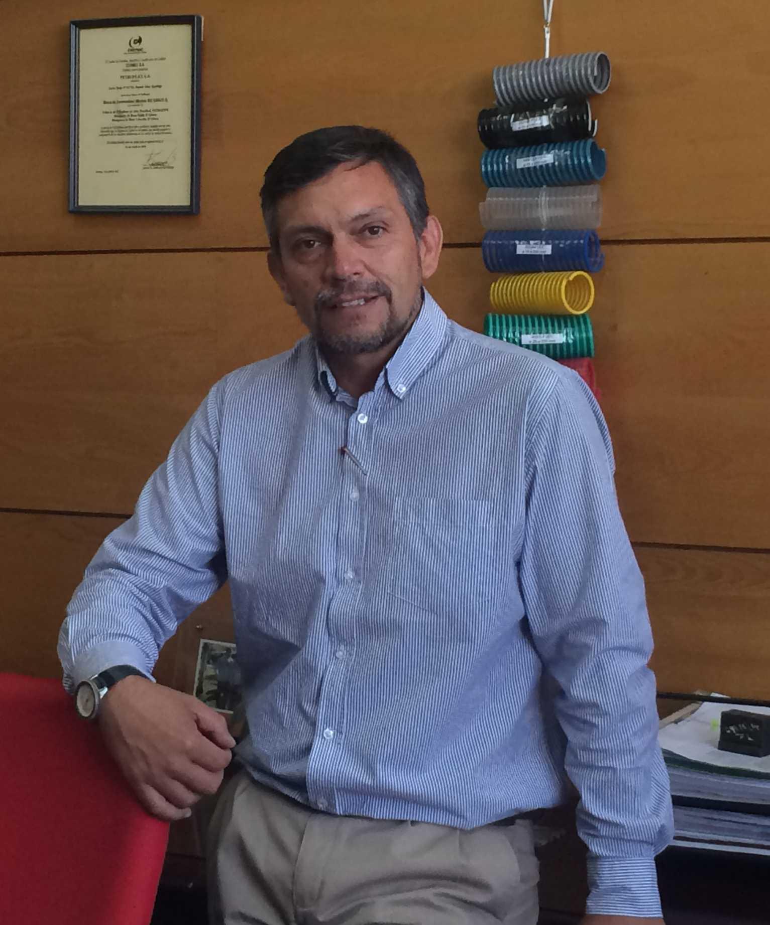 Mauricio Arnold. Jefe de Producción
